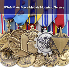 USAMM Air Force Medals Mounting Service