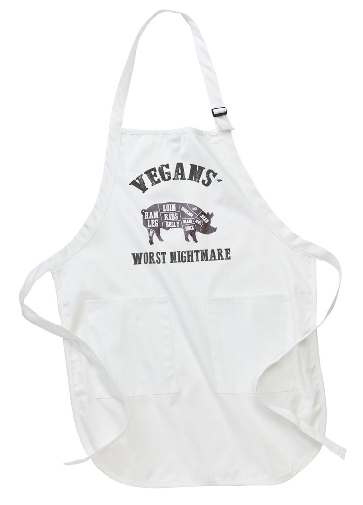 Vegan's Worst Nightmare Apron