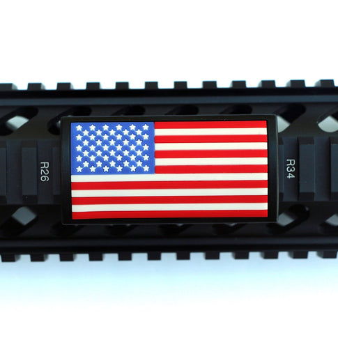 U.S. Flag RWB Rail Covers - Left Star Field