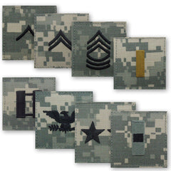 Army ACU Rank - Officer and Enlisted