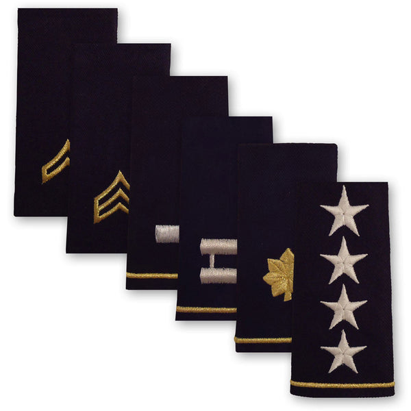 Army Epaulets - Enlisted and Officer - Small Size