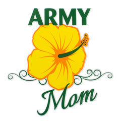 U.S. Army Mom Clear Decal