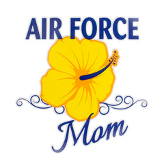 Air Force Mom Clear Decal