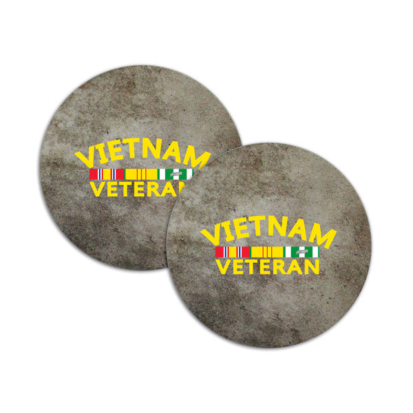Vietnam Veteran Ribbon Rack Coasters