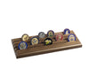 4-Row Challenge Coin Rack