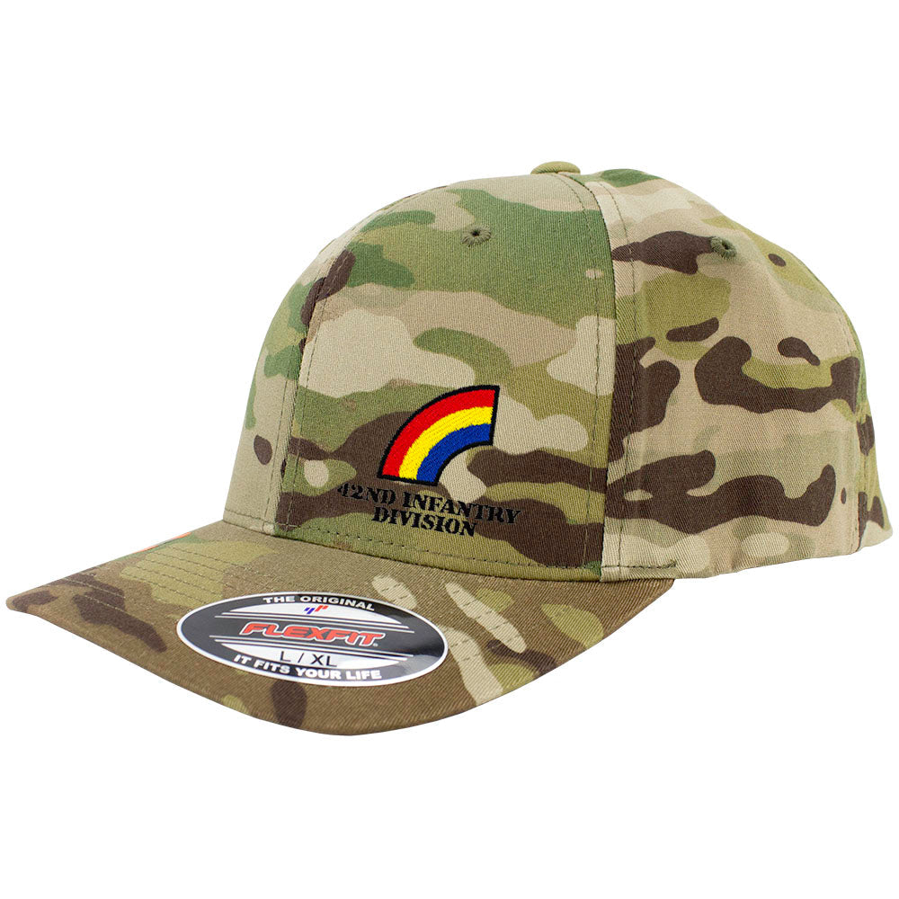 42nd Infantry Division FlexFit Caps - Multicam