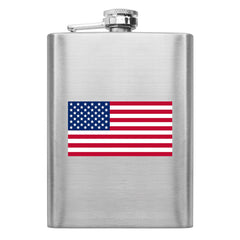 U.S. Flag 8 oz. Flask