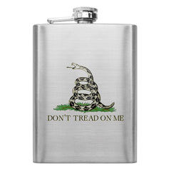 Don't Tread on Me 8 oz. Flask