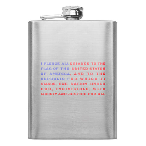 I Pledge All 8 oz. Flask