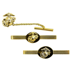 Marine Corps Tie Tacs & Clasps