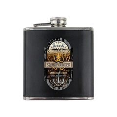 Navy Squidpounder Imperial Stout 6 oz. Flask with Wrap