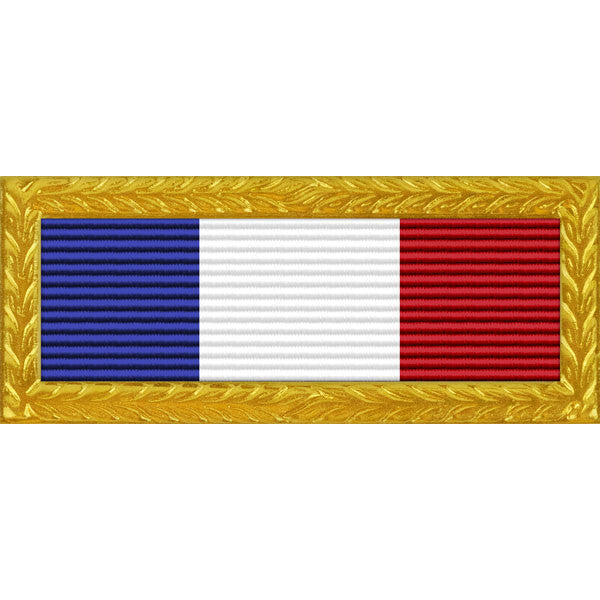 North Carolina National Guard Governor's Unit Citation - Thin Ribbon (with Gold Frame)