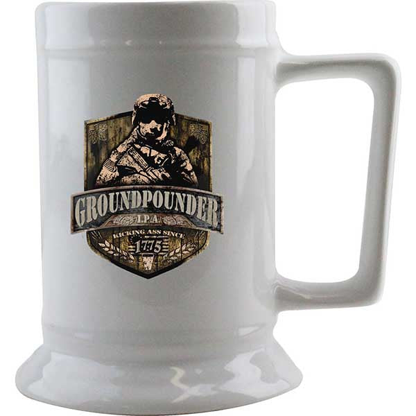 Army Groundpounder IPA Beer Stein