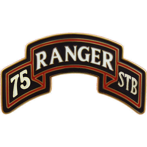 75th Ranger Special Troops Battalion Combat Service Identification Badge