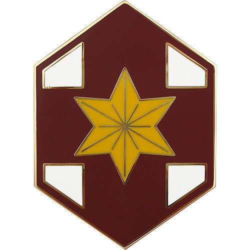 804th Medical Brigade Combat Service Identification Badge