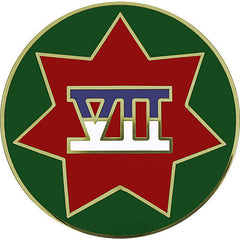VII (7th) Corps Combat Service Identification Badge