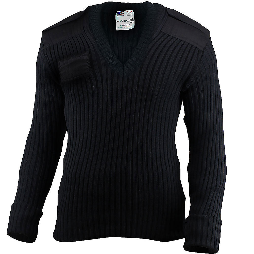 Mens Elbow Patch Sweater