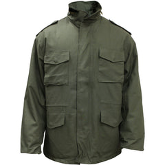 OD Green M-65 Field Jacket with Liner