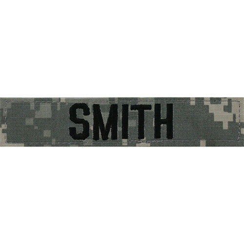 Embroidered Name Tapes and Helmet Bands