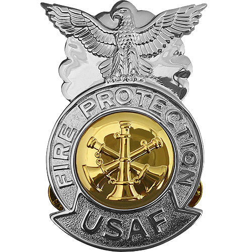 Air Force Fire Protection Badge Usamm