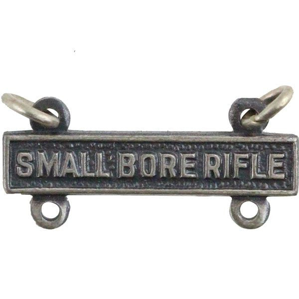 Small Bore Rifle Bar - Silver Oxidized