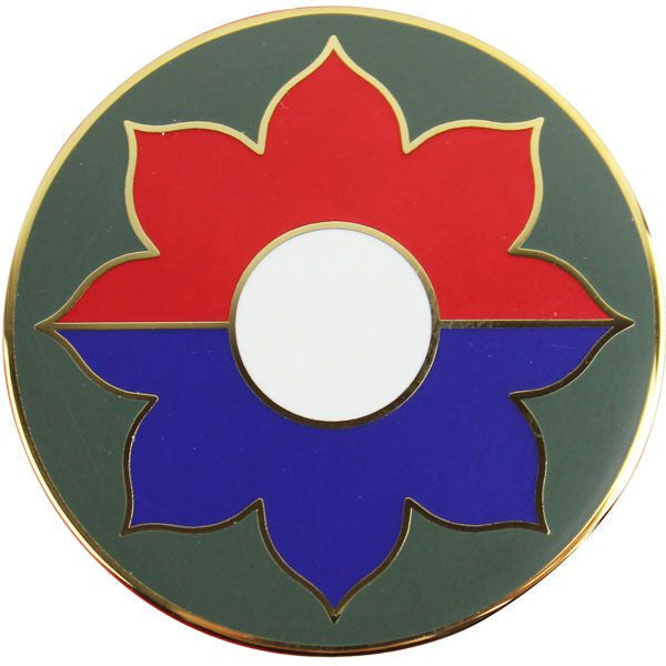 9th Infantry Division Combat Service Identification Badge