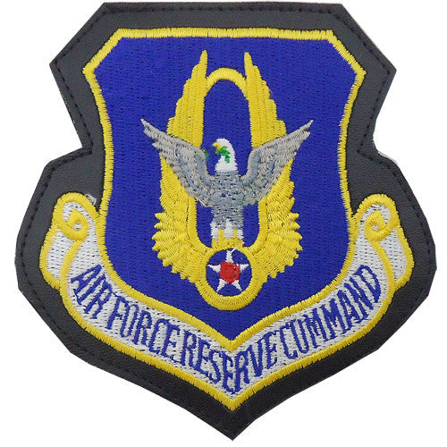 Air Force Reserve Command Full Color Patch with Leather Border