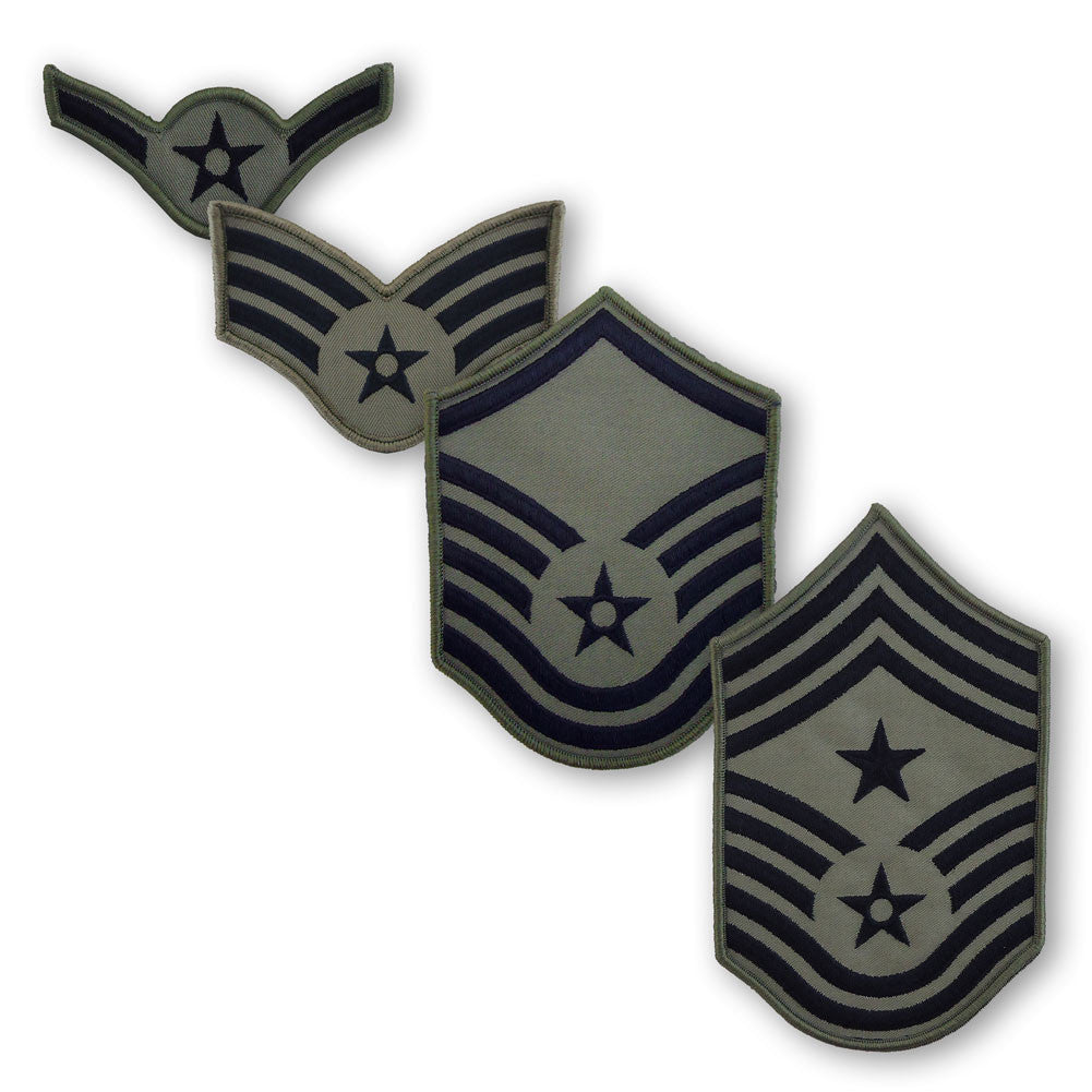 Airman Battle Uniform (ABU) Enlisted Rank - Large Size