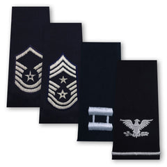 Air Force Epaulets - Enlisted and Officer - Large Size