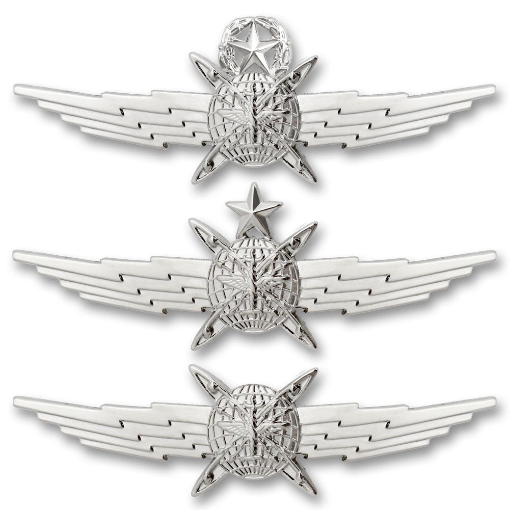 Air Force Miniature Cyberspace Operator Badges