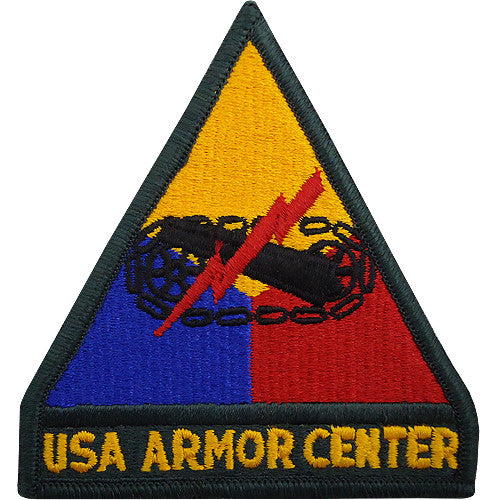 Armor Center Class A Patch