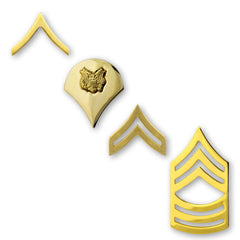 Army Gold-Brite Enlisted Rank