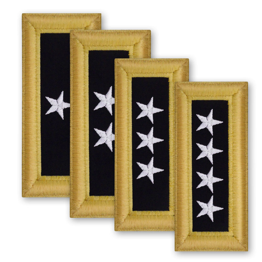 Army Male Shoulder Boards - General Officer
