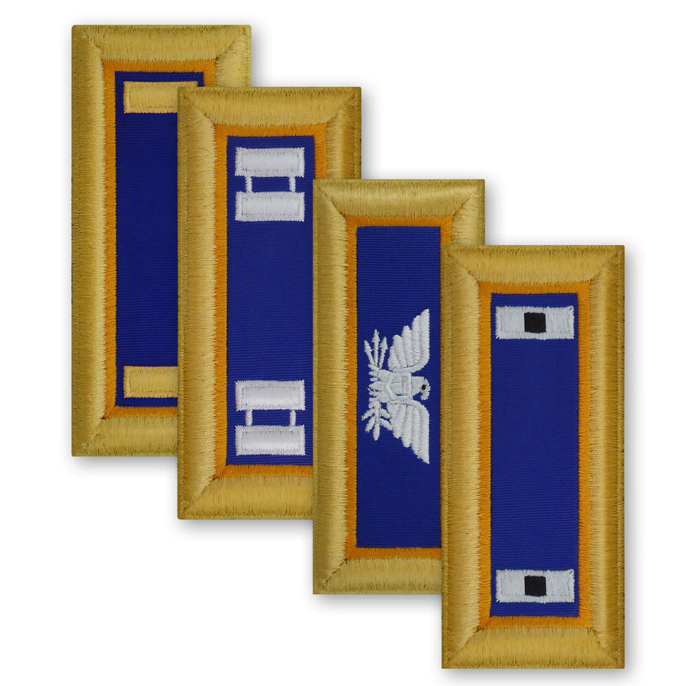 Army Female Shoulder Boards - Aviation