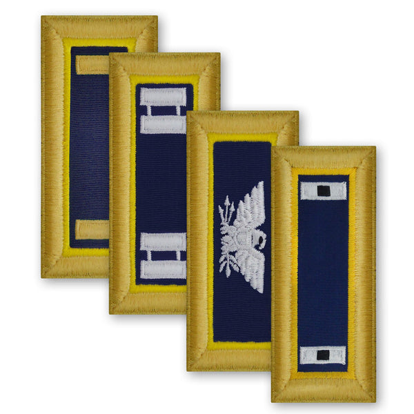 Army Female Shoulder Boards - Chemical