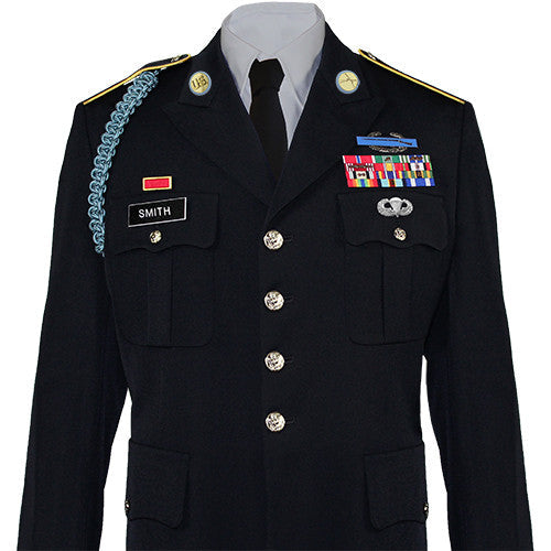 Army Service Uniform (ASU) Male Dress Coat - Enlisted | USAMM