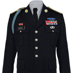 Army Service Uniform (ASU) Male Dress Coat - Enlisted