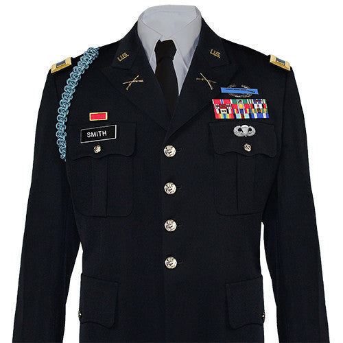 Army Service Uniform (ASU) Male Dress Coat - Officer