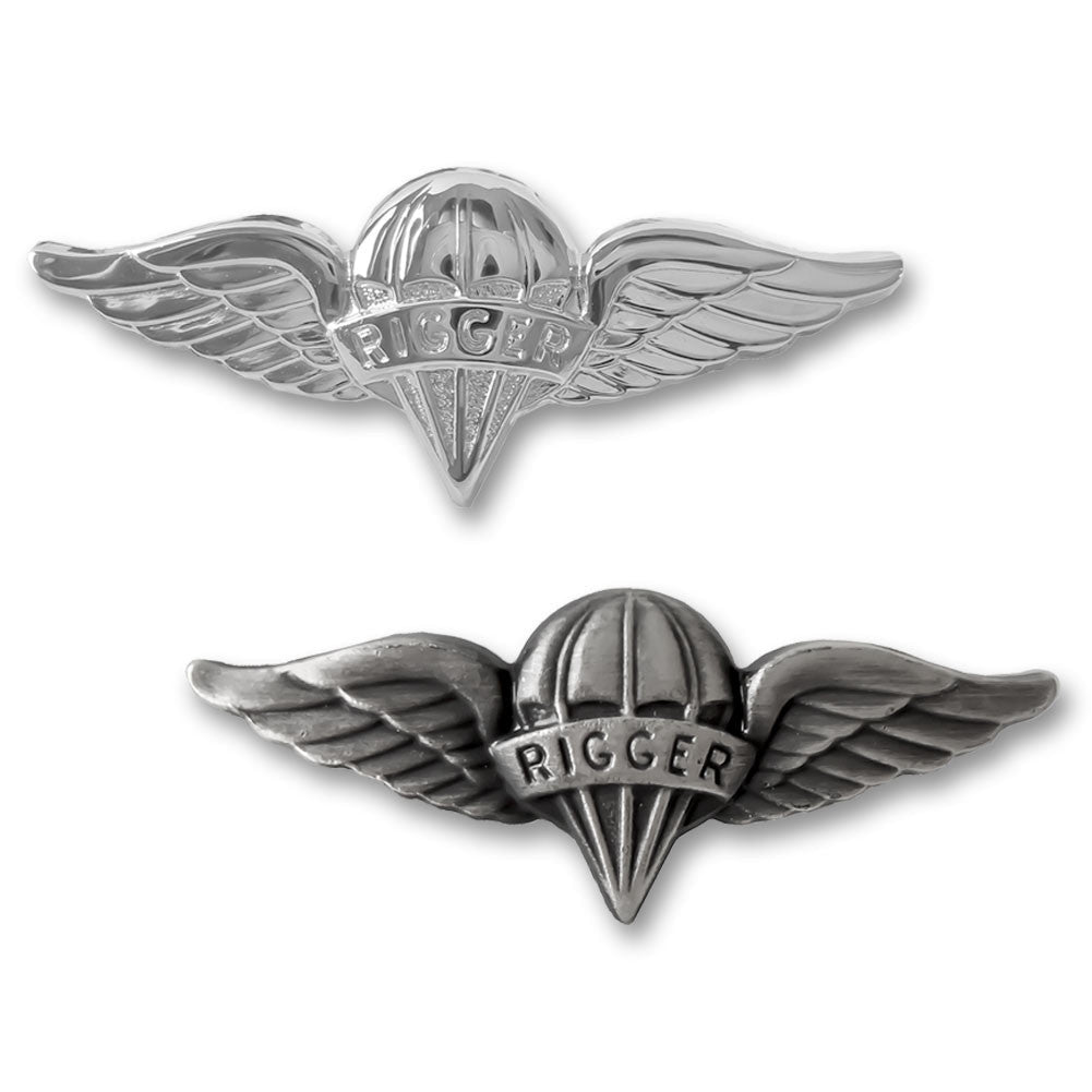 Army Miniature Parachute Rigger Badges