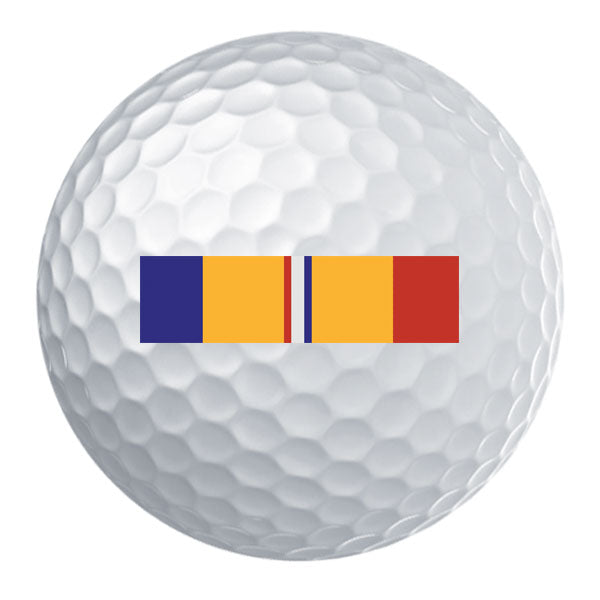 Combat Action Ribbon Golf Ball Set