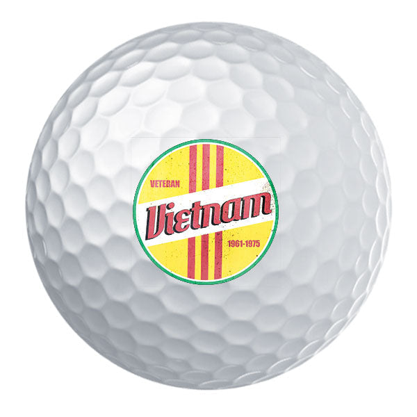 Retro Vietnam Veteran Golf Ball Set