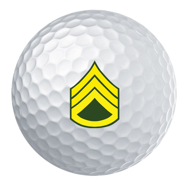 Army Rank Golf Ball Set