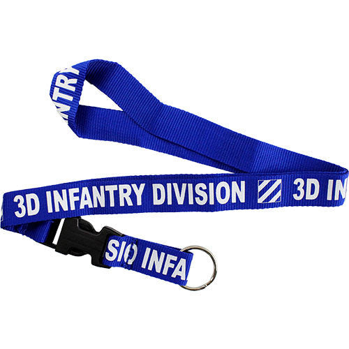 3rd Infantry Division Lanyard