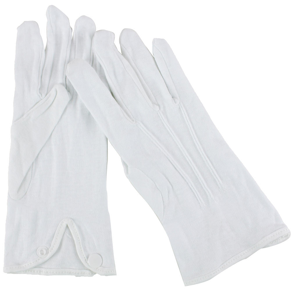 White Parade Glove - X-Small