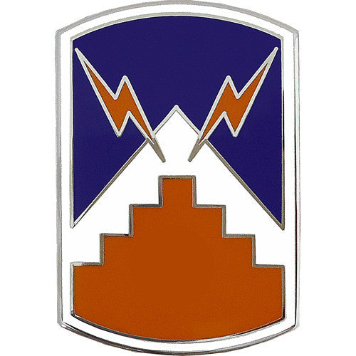 7th Signal Brigade Combat Service Identification Badge