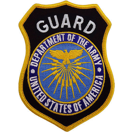 Department of the Army - Guard Class A Patch (Regular)