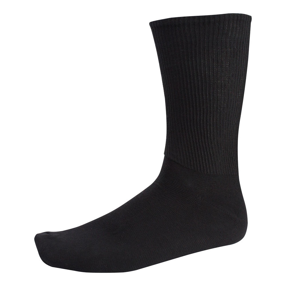 Black Military Dress Socks (10-13)