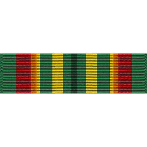 Indiana National Guard Longevity Service Medal Thin Ribbon