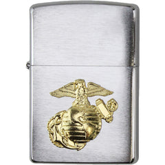U.S. Marine Corps Globe and Anchor Zippo Lighter
