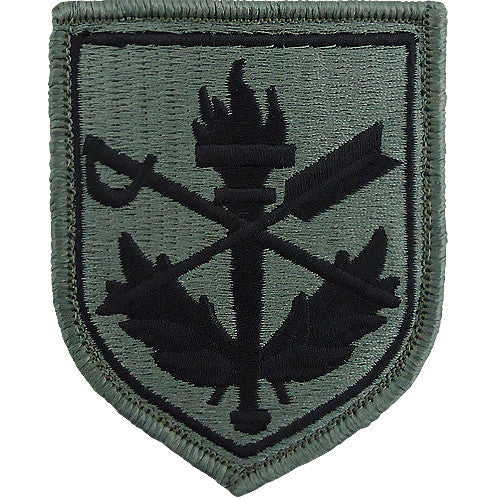 Judge Advocate General (JAG) Legal Center and School ACU Patch
